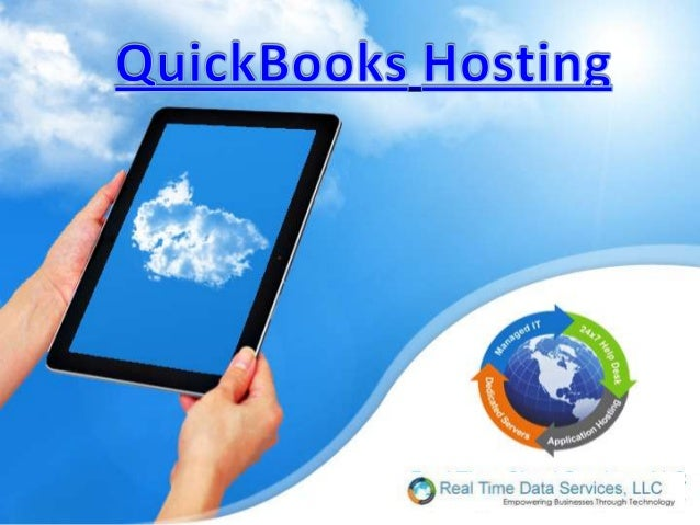 QuickBooks hosting implies installing andrunning QuickBooks accounting programs onthird party terminal servers. The users ...