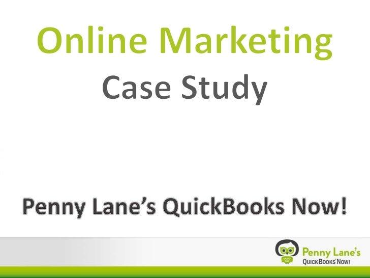 QuickBooks Now Online Mkt Case Study