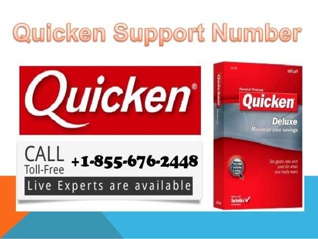 Quicken Phone Support Number