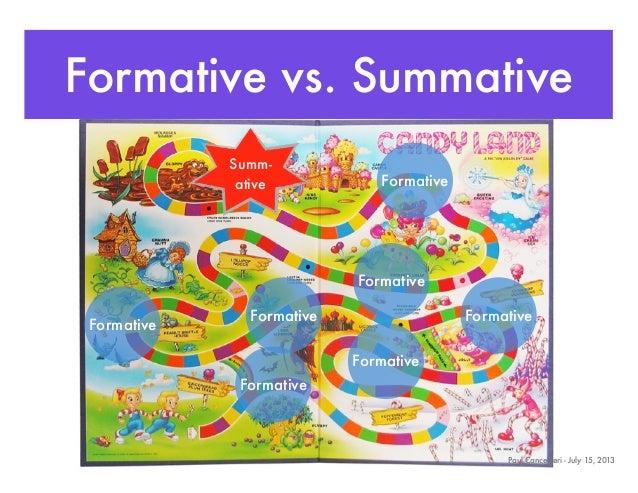 Summative v formative essay