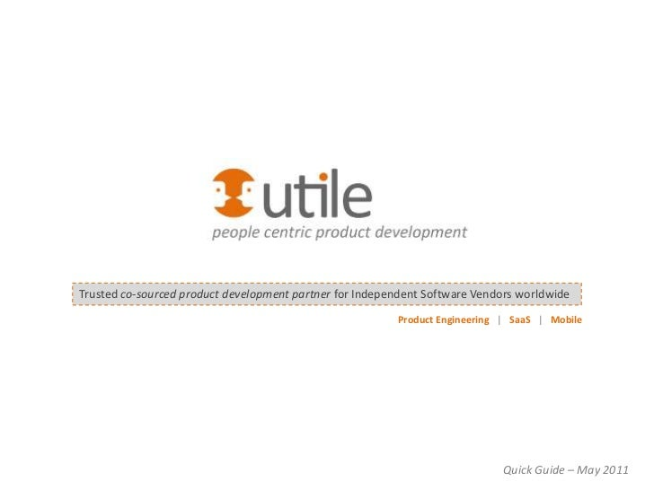 Trusted co-sourced product development partner for Independent Software Vendors worldwide<br />Product Engineering  |   Sa...
