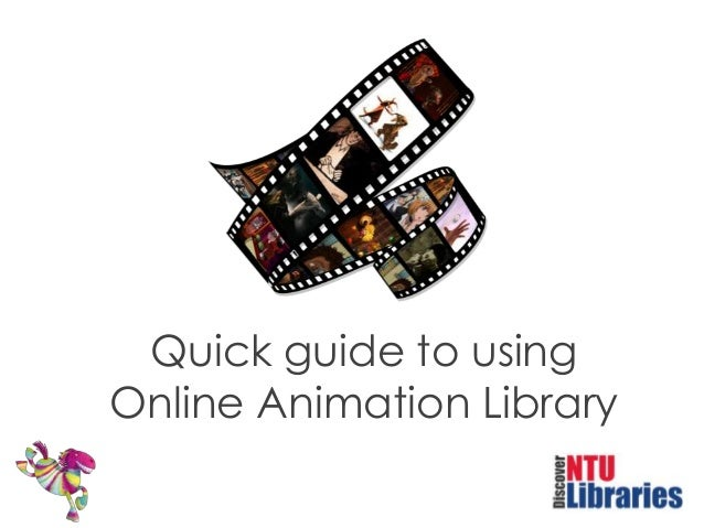 Quick guide to using Online Animation Library