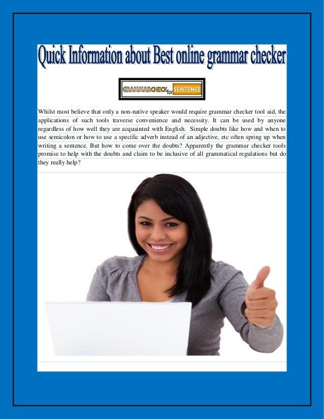 Thesis checker online