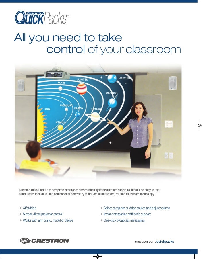 Crestron Quickpacks - K-12 Classroom