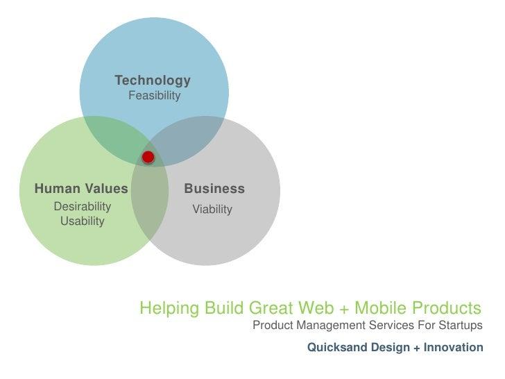 Quicksand Product Management Services