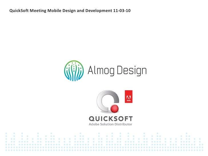 QuickSoft Mobile Tips & Tricks 11-03-10