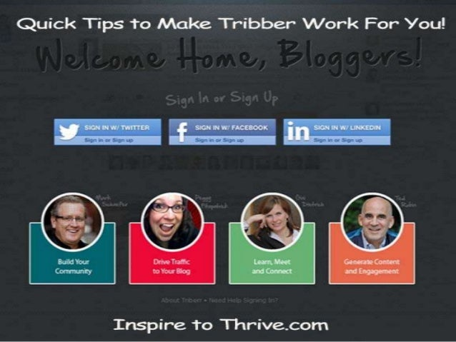 Quick tips to make triberr work for your blog
