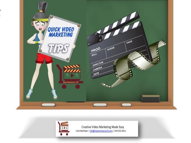 Quick Video Marketing Tips