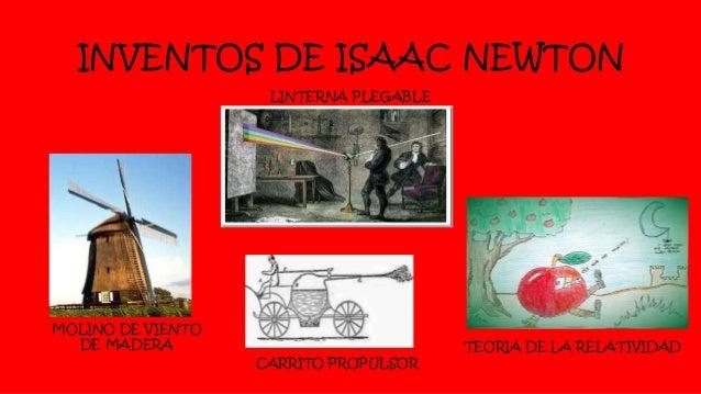2 inventos de isaac newton