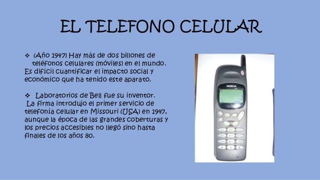 Quien invento 3 for De donde es el telefono