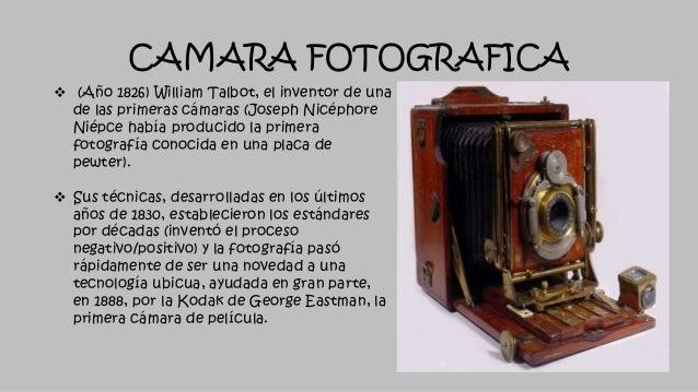 Resultado de imagen para la primer camara fotografica