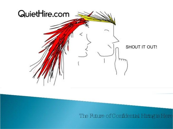 Quiet Hire Presentation2