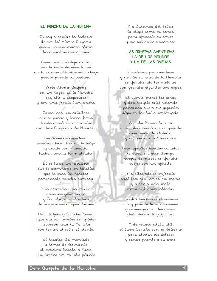 Quijote En Verso