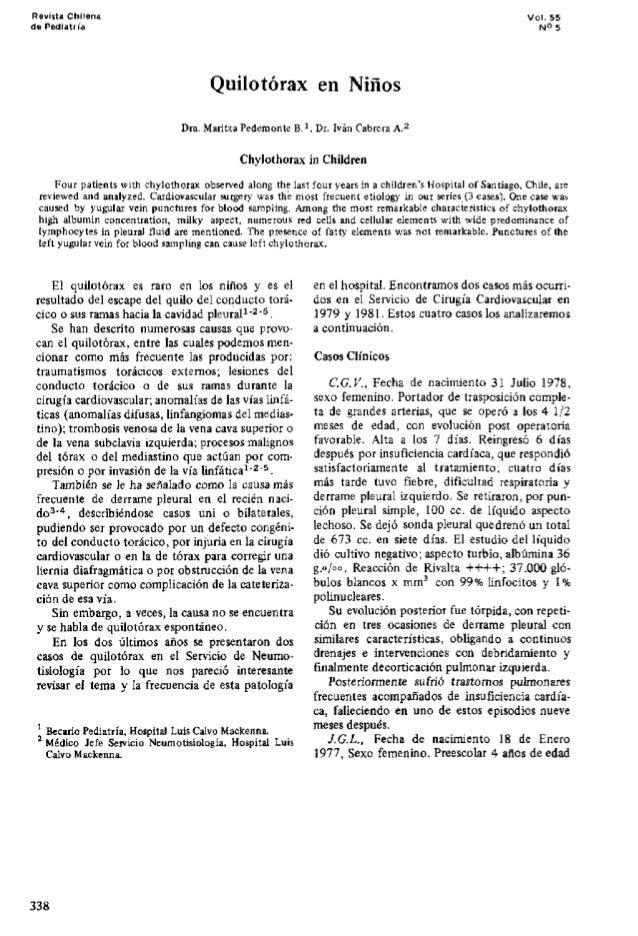 Quilotorax