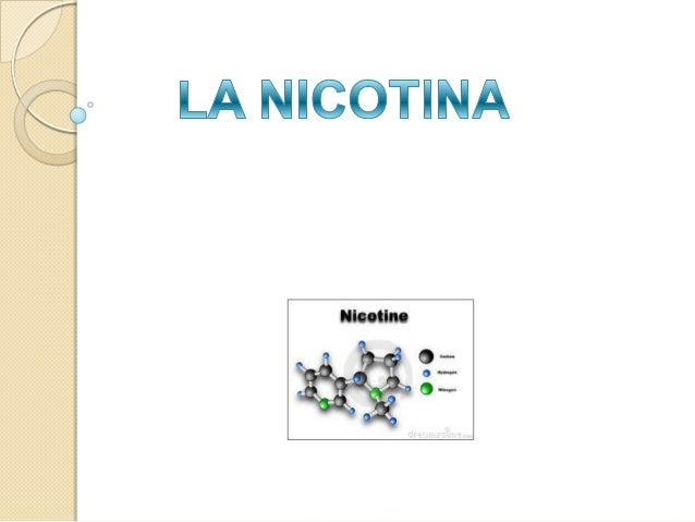 Quimica 3 nicotina