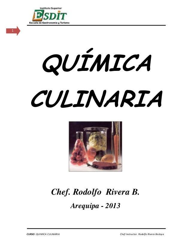 Quimica culinaria esdit 1 prof rodolfo 97 p ginas 2013 for Libros de cocina molecular
