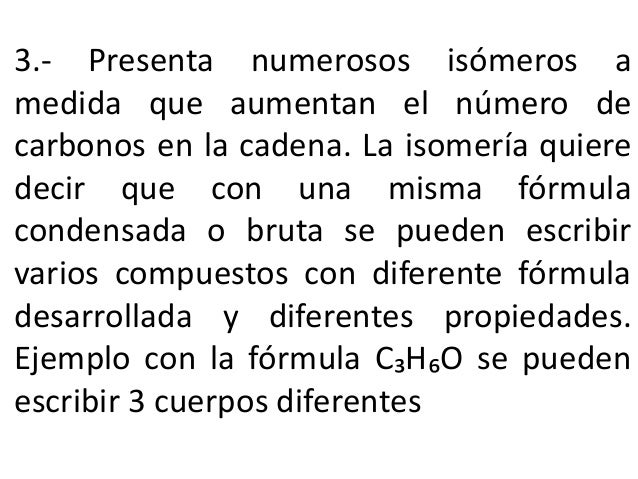Formulas Quimicas Organicas Fórmulas Químicas • Empírica