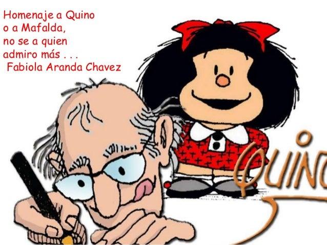 Homenaje a Quino o a Mafalda, no se a quien admiro más . . . Fabiola Aranda Chavez