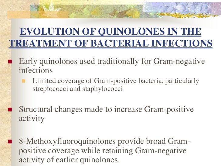 Ciprofloxacin coverage gram positive bacteria
