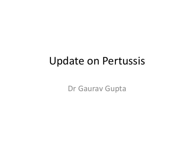 Update on Pertussis with special reference to QUINVAXEM in India