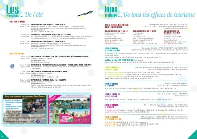 Quinzaine estivale granville juillet 2014 - Office du tourisme de granville ...