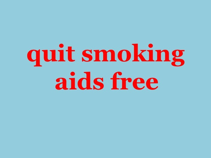 Quit smoking aids free