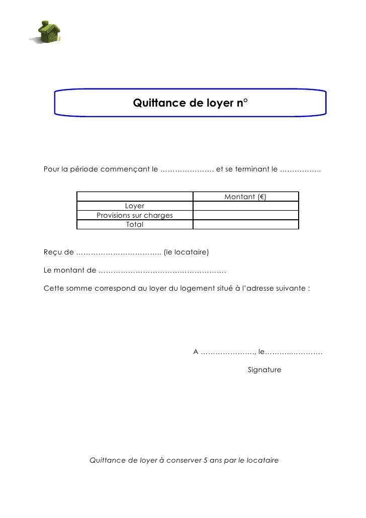 Modele quittance de loyer location meublee document online - Loyer meuble non professionnel ...