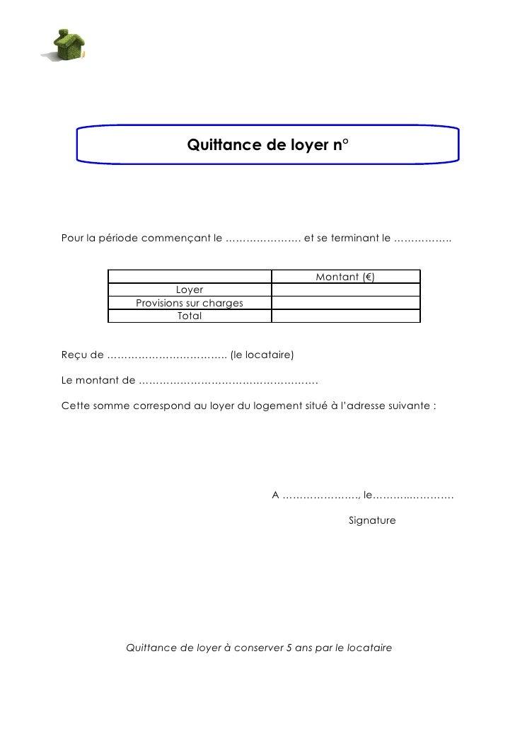 Modele quittance loyer commercial gratuit document online - Modele etat des lieux location meublee ...