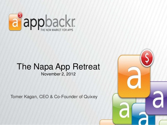 Quixey Presentation for The Napa App Retreat
