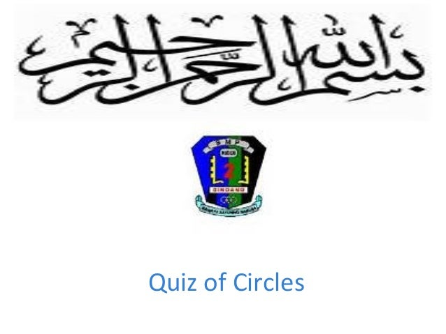 Quiz of Circles
