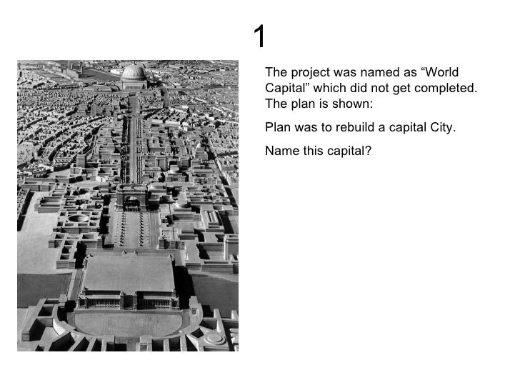 """1 The project was named as """"World Capital"""" which did not get completed. The plan is shown: Plan was to rebuild a capital C..."""