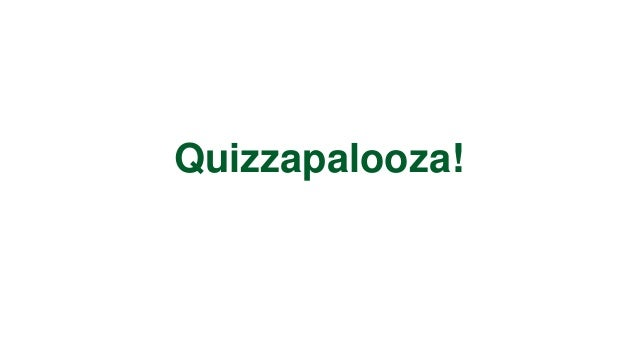 Quizapalooza (Finals)