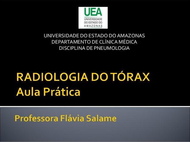 Aula prática de radiologia
