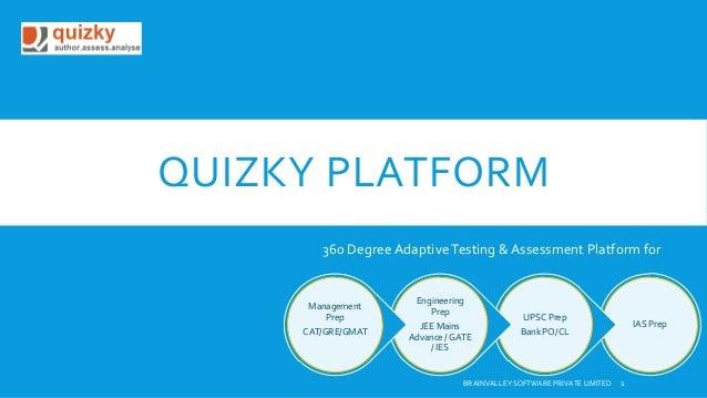Quizky Test & Assessment Engine