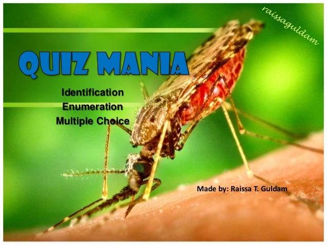 Identification EnumerationMultiple Choice                  Made by: Raissa T. Guldam