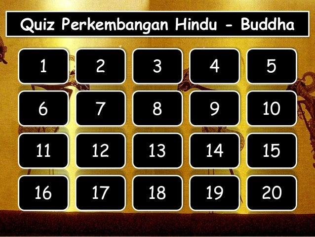 Quiz Perkembangan Hindu Buddha 10 Soal