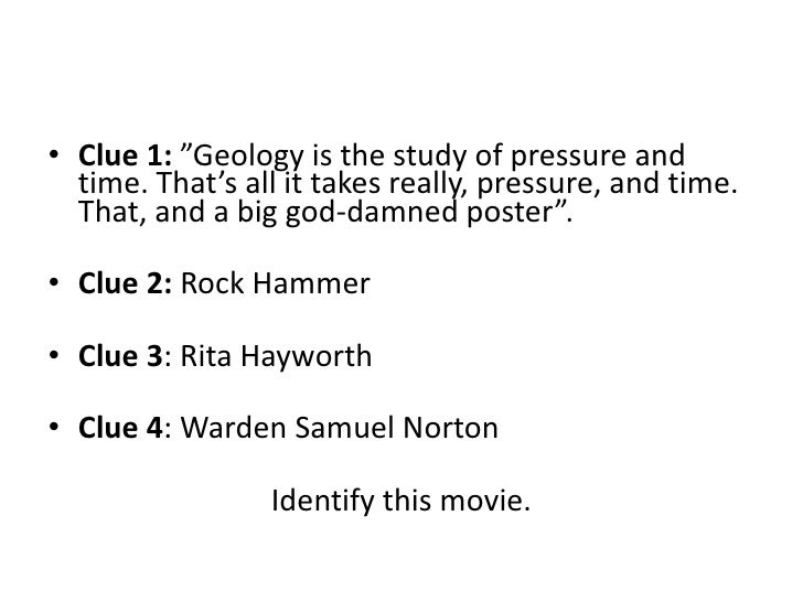 rita hayworth and shawshank redemption study guide answers