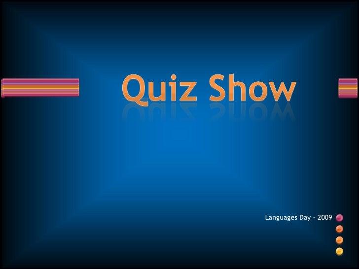Languages Day Trivia Quiz