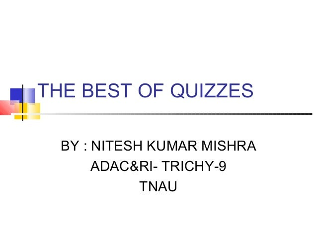 best of the quizzes