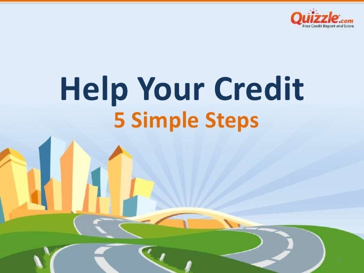 Help Your Credit   5 Simple Steps                    1
