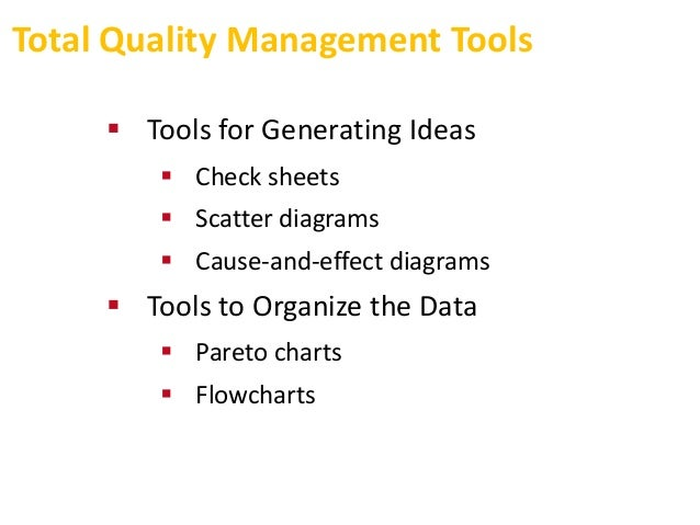 total quality management and materials management Definition of materials management: the planning and control of the  total  quality management (tqm) is a competitive approach to long-term success that's .