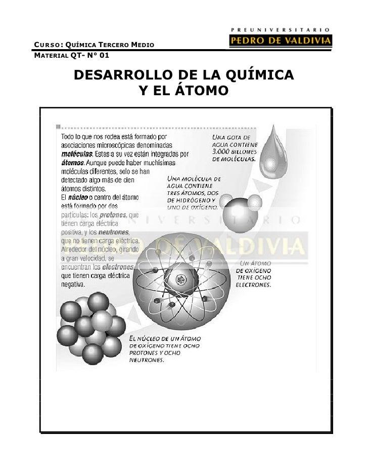 PDV: Química Guía N°1 [3° Medio] (2012)