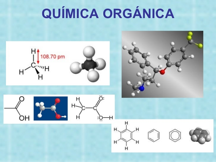 Formulas Quimicas Organicas Química Orgánica