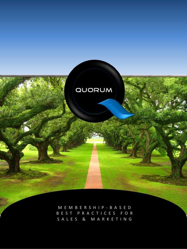 Quorum Brochure