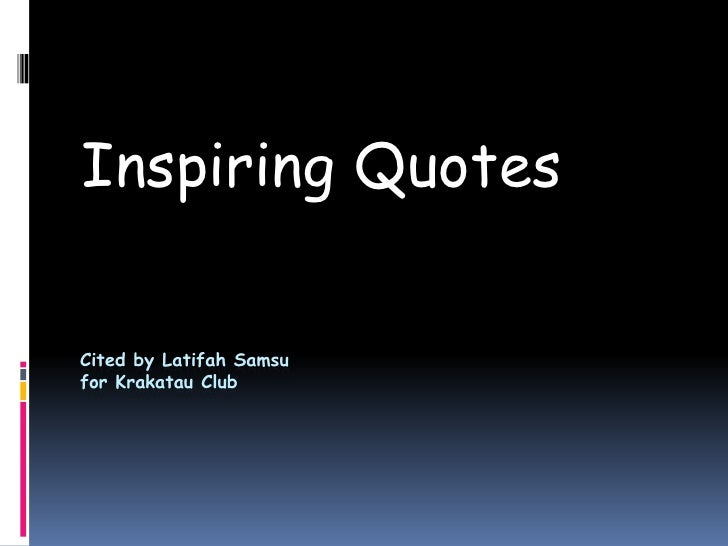 quotes slide