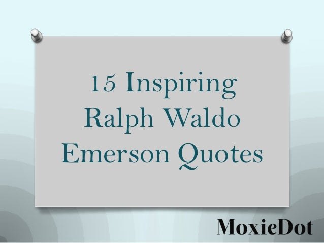 a critical analysis of self reliance by ralph waldo emerson Commentary and archival information about ralph waldo emerson from the new york times  the foul reign of emerson's 'self-reliance'  but the narrow literary landscape of the 19th .