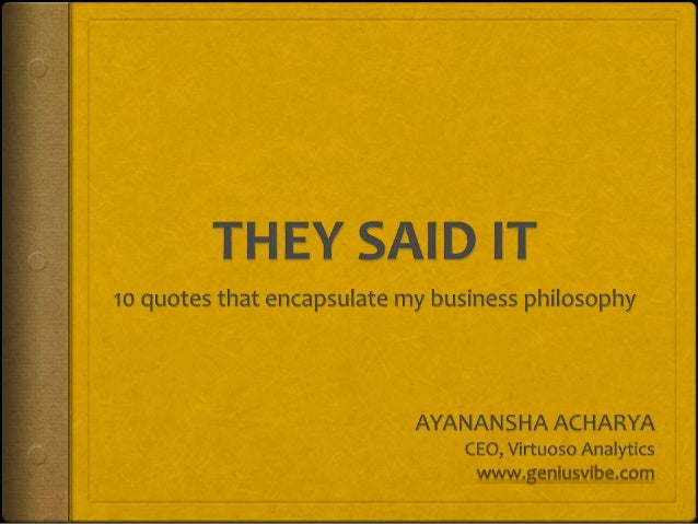 Quotes slideshare