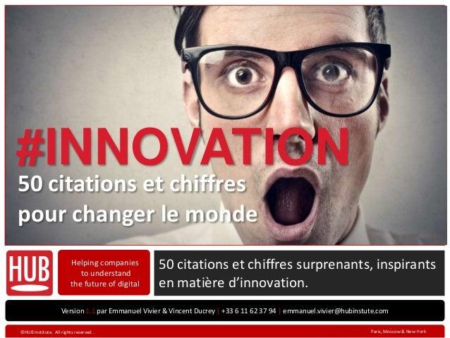 50 citations sur l'innovation