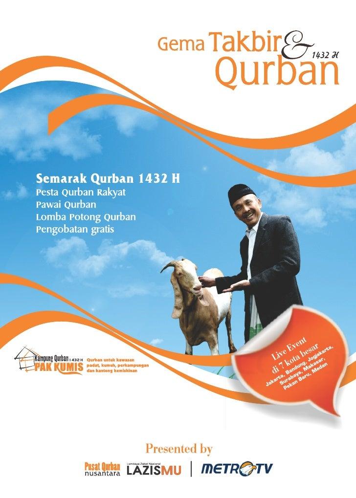 """Pesta Qurban Rakyat : Lomba Potong Hewan Qurban""www.pusatqurban.org"