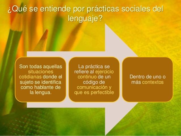 Qu se entiende por pr cticas sociales del lenguaje for Practica de oficina concepto